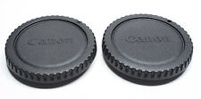 TWO Genuine Canon RF-3 body caps for EOS 1Dx 1Ds 7D 5D II III 6D 70D T5i T6i etc