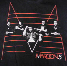Maroon 5 2011 Tour Concert T-Shirt Large Adam Levine NBC The Voice Payphone Band