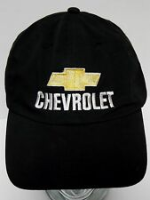 CHEVROLET LOGO Chevy GM CAR TRUCK AUTOMOTIVE Advertising BLACK YELLOW HAT CAP