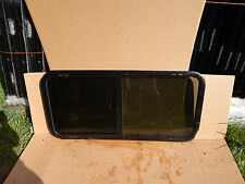 """RV Trailer Window, 48""""X22""""X1"""", W/Screens & Rings, Factory Take Out, New  #650"""