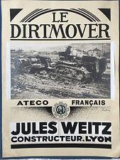 """""""""""LE DIRTMOVER"""" PROJET D'AFFICHE"""