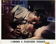 LANA TURNER CLIFF ROBERTSON LOVE HAS MANY FACES 1965 6 VINTAGE LOBBY CARDS  LOT