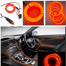 Atmosphere Orange Cold Light Strip Decorative Lamp Auto Interior LED Wire New