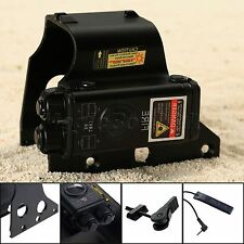 Tactical Red Dot Laser Protective Hood Cover + Switch for Airsoft Holo Sight 551