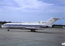 Vietnam Airlines Boeing 727-121C XV-NJB at Bangkok Airport in 1970 Postcard