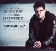 Christian ERNY / Piano Works by Liszt and Debussy / (1 CD) / NEUF