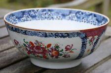Schale antik Schüssel China spätes 19. Jahrhundert  handbemalt Porzellan