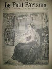 REINE VICTORIA ANGLETERRE NOCE A BICYCLETTE A MARSEILLE LE PETIT PARISIEN 1897