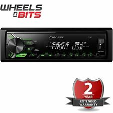 NEW Pioneer MVH-190UBG Mechless Car radio Stereo USB Aux Android Ready RDS Tuner