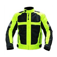 Men's Motorbike Clothing Motorcycle Jacket Wind/ Waterproof CE Armour All size