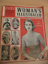 OLD VINTAGE WOMANS ILLUSTRATED MAGAZINE 1950S 1 dec 1956 FASHION PATTERNS