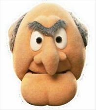 Statler from The Muppet Show Official Single Fun Disney CARD Party Face Mask