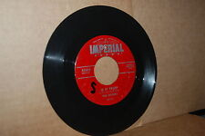 THE SPIDERS: IS IT TRUE? & WITCHCRAFT; 1955 IMPERIAL 5366 DOO WOP 45 RPM