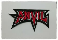 Anvil Iron Sew On Patch Embroider Rock Band Heavy Metal Free Shipping Music Logo