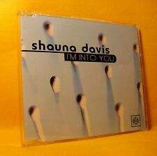 MAXI Single CD SHAUNA DAVIS I'm Into You 7TR 1996 eurodance