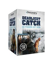 DEADLIEST CATCH COMPLETE SEASONS 1,2,3,4,5,6,7,8,9,10 BOXSET 46 DISCS SET 1 - 10