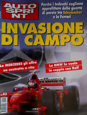 Autosprint 45 1999 Mercedes e BMW tentano Schumacher. Incidente e morte di Moore