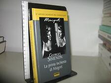 SIMENON GEORGES - LA PRIMA INCHIESTA DI MAIGRET - FABBRI 2003