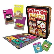 """Gamewright """"Sushi Go Party The Deluxe Pick and Pass"""" Card Game  GAME NEW"""