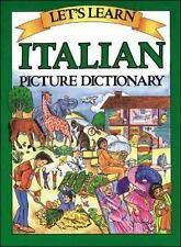 Let's Learn Italian Picture Dictionary Goodman, Marlene