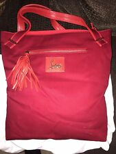 Women's Christian Louboutin Red Purse Handbag Brand New With Tags From 2011