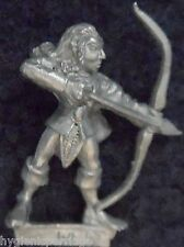 1989 Wood Elf MM80 WE 9 Marauder Elven Army Silvan Warhammer Citadel AD&D Metal