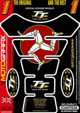 Isle of Man TT Races Official Licensed Motografix Tank Pad Tankpad Protector