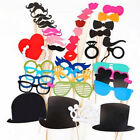 44/Lot Photo Booth Props For Wedding Party Moustache Lips On A Stick Photobooth