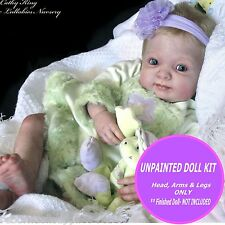 Baby Kimber Reborn Doll Kit ~ Soft Vinyl baby doll kit ~ unpainted  vinyl kit