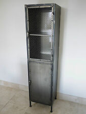 Industrial Metal Storage Locker - Office / Bathroom Cabinet - Versatile and COOL
