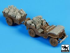 Black Dog 1/35 US Jeep Airborne Before Drop Accessories Set (for Bronco) T35097