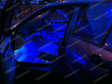 BMW 3 Series E46 318i 320i M3 BLUE LED INTERIOR LIGHTING KIT CANBUS ERROR FREE