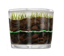 Observation Worm Farm Kit for Kids with LIVE Worms INCLUDED. See Worms Working!