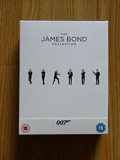 THE JAMES BOND 007 23 FILM COLLECTION, BLURAY BRAND NEW UNSEALED, NO UV CODES