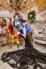 New Black Butler Ciel Phantomhive Cosplay Costume Custom Made Deluxe Edition