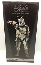 Sideshow  - STAR WARS 1:6 Scale figure - Clone Commander WOLFEE - 12 inch
