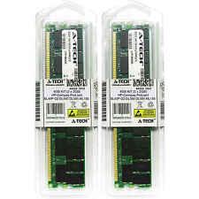 4GB KIT 2 x 2GB HP Compaq ProLiant BL40P G2 DL560 DL585 ML150 Ram Memory