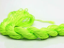 New 28M/roll(1mm)Chinese Knotting Nylon Thread Cord Wire Beading Bracelet X7