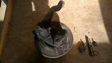N/S FRONT HUB C/W KING PIN - REMOVED FROM IVECO 75-E-15 BREAKING FOR SPARES