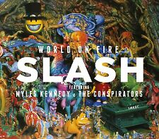 SLASH WITH M. KENNEDY AND THE CONSPIRATORS WORLD ON FIRE DOPPIO VINILE LP NUOVO