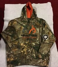 REALTREE OUTFITTERS XTRA CAMO MEN'S HOODIE CAMOUFLAGE PULLOVER ANTLERS L NWT