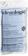 Clean Logic Stretch Bath - Shower Cloth, Colors May Vary 1 ea (Pack of 8)