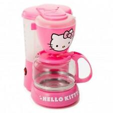 HELLO KITTY*Kitchen Appliance Electric COFFEE MAKER Machine*with AUTO-OFF*Pink