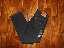 NWT Mens LEVIS 514 Straight Fit Dark Wash Jeans Size 34 W 32 L $58