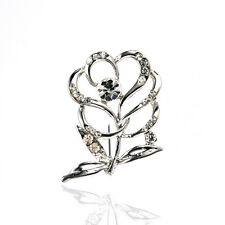 Beautiful Flower Corsage Coat Blouse Decoration Bridal Brooch Pin BR354
