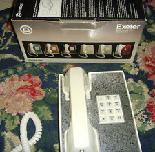 Vintage Exeter self decorator corded phone for replacement repair parts pieces