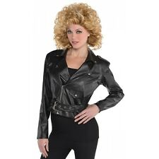 Bad Sandy Costume Jacket Adult 50s Greaser Girl Halloween Fancy Dress