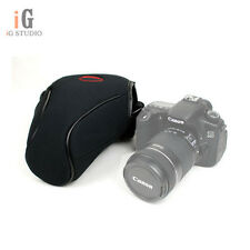 L Neoprene Soft Camera Case Bag For Canon 7D 6D 5D 5DII 5DIII Nikon D70 D70S