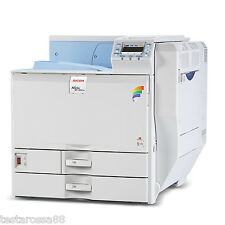 RICOH Aficio SPC820DNL Colour Laser A3 Printer Low Prints Tested & Guaranteed