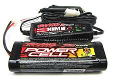 Revo 3.3 EZ-START BATTERY & 2 AMP Charger T-maxx 1800 MAh 7.2v 5309 Traxxas